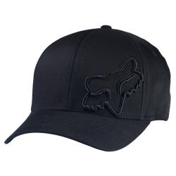FOX MĘSKA CZAPKA Z DASZKIEM FLEX 45 HAT BLACK