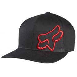 FOX MĘSKA CZAPKA Z DASZKIEM FLEX 45 HAT RED