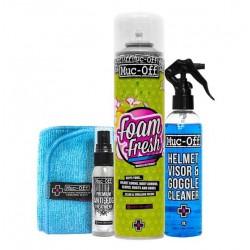 Muc-Off zestaw do czyszczenia kasku na prezent