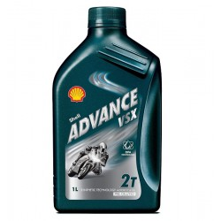 Olej silnikowy półsyntetyczny SHELL ADVANCE VSX 2T 1 L
