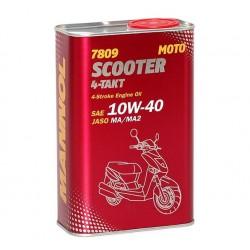Olej silnikowy półsyntetyczny MANNOL 4T SCOOTER 10W40 1L MA2 7809