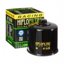Filtr oleju HIFLOFILTRO HF138 RC RACING SUZUKI sportowy na tor torowy