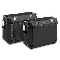 KAPPA KVE37APACK2 K-VENTURE BLACK aluminiowe kufry boczne 37l