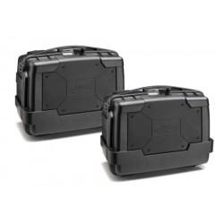 KAPPA KGR46 GARDA BLACK LINE kufry boczne komplet 2 sztuki 46l
