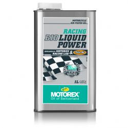 MOTOREX RACING BIO LIQUID POWER olej do nasączania filtrów powietrza 1litr