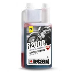 IPONE R2000RS Synthetic Plus 2T truskawkowy olej do dozownika, do mieszanki 1 litr