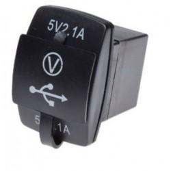 MOTOCYKLOWE GNIAZDO USB 2 x 2.1A