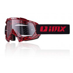 Gogle IMX MUD Graphic Black Red szybka clear