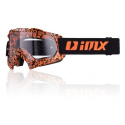 Gogle IMX MUD Graphic Black Orange szybka clear