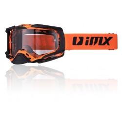 Gogle IMX DUST Graphic Black Orange dwie szybki (jasna i ciemna)