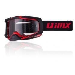 Gogle IMX DUST Graphic Black Red dwie szybki (jasna i ciemna)