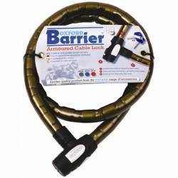 Linka kabel łańcuch blokada motocyklowa OXFORD BARRIER 1,5 m