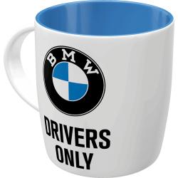 Kubek ceramiczny na prezent BMW DRIVERS ONLY 43051 330ml