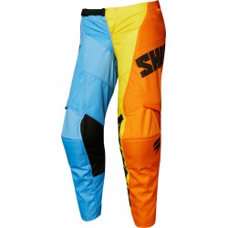 Spodnie dziecięce off road SHIFT WHIT3 TARMAC JUNIOR BLUE