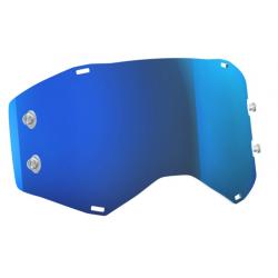 SCOTT szybka do gogli electric blue chrome PROSPECT / FURY