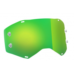 SCOTT szybka do gogli green chrome PROSPECT / FURY