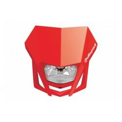 Uniwersalny reflektor przedni lampa owiewka Polisport LMX CZERWONY