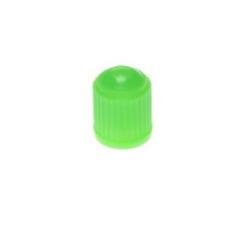 Nakrętki na wentyle plastik tworzywo ZIELONY