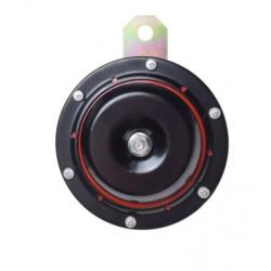 Sygnał dżwiękowy klakson syrena motocyklowy czarny 6V