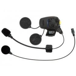 SENA Interkom motocyklowy Bluetooth z radiem FM do kasków otwartych szczękowych z mikrofonem na pałąku SMH5-FM-01 1 kask