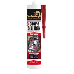 TECHNICQLL silikon wysokotemperaturowy czarny 300ml