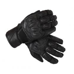 Rękawice motocyklowe krótkie męskie SECA KAZUKI II CZARNE