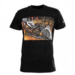 Koszulka motocyklowa męska t-shirt SECA BRIDGE