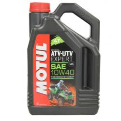 Olej silnikowy półsyntetyczny do quadów MOTUL ATV-UTV EXPERT 4T 10W40 4 litry