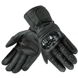 Rękawice motocyklowe długie skórzane OZONE RIDE II czarne