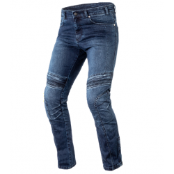 Spodnie motocyklowe jeansowe męskie OZONE HORNET II niebieskie L34