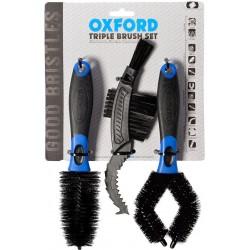Zestaw szczotek do mycia motocykli szczotki OXFORD