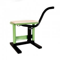 Podnośnik motocyklowy stojak stołek winda CROSS ENDURO OFF ROAD ZIELONY