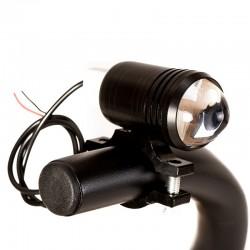 Mini halogeny soczewkowe z funkcją stroboskop + włącznik - CREE LED