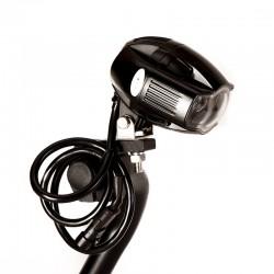 Zestaw halogenów motocyklowych matryca LED CREE - 40 Wat 4000 LM
