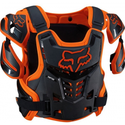 BUZER FOX ADULT RAPTOR VEST ORANGE