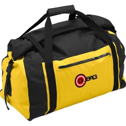 Rolka bagażowa na tył motocykla Q-Bag Roll Top Bag Yellow 65L