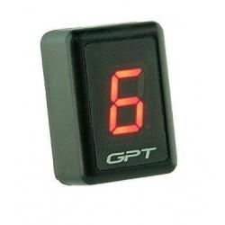 GPT uniwersalny wyświetlacz biegów white GI1001R
