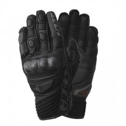 SECA TARGET III męskie krótkie skórzane rękawice motocyklowe