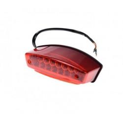 Lampa tył czerwony klosz Atv Motocykl
