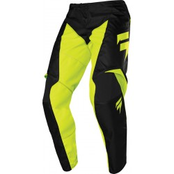 Spodnie cross enduro off road SHIFT WHIT3 LABEL RACE GRAPHIC 1 YELLOW FLUO