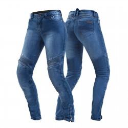 SHIMA JESS BLUE spodnie jeansy motocyklowe damskie