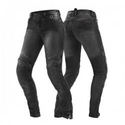 SHIMA JESS BLACK spodnie jeansy motocyklowe damskie