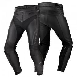 SHIMA CHASE PANTS BLACK spodnie skórzane męskie
