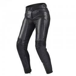 SHIMA MONACO PANTS BLACK motocyklowe damskie spodnie skórzane
