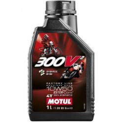 Olej silnikowy MOTUL 300V Factory Line Road Racing 10W50 1l