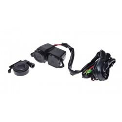 Gniazdo zapalniczki + USB motocykl skuter ATV