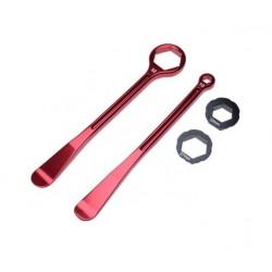 Klucz motocyklowy z łyżką montażową zestaw 2.szt