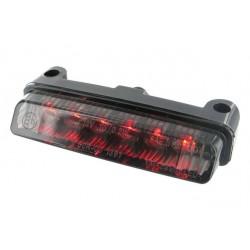 Uniwersalna lampa mini z kierunkowskazami czarna LED STR8