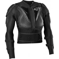 Zbroja koszulka z ochraniaczami FOX TITAN SPORT BLACK
