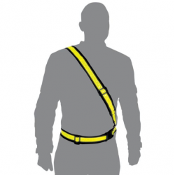 SZELKI ODBLASKOWE Pasy bezpieczeństwa OXFORD Bright Belt